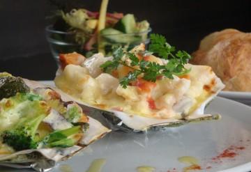 魚介と鎌倉野菜のグラタン